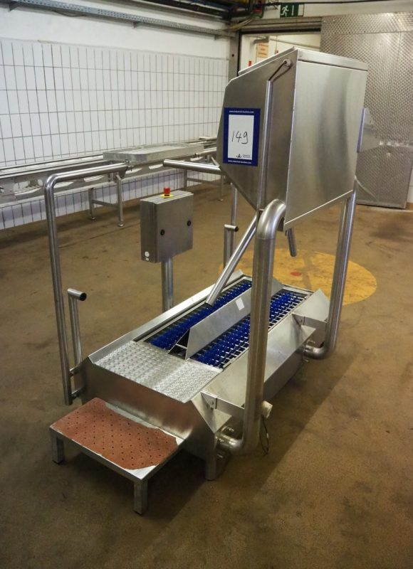 Hygiene Station with Sole Cleaner