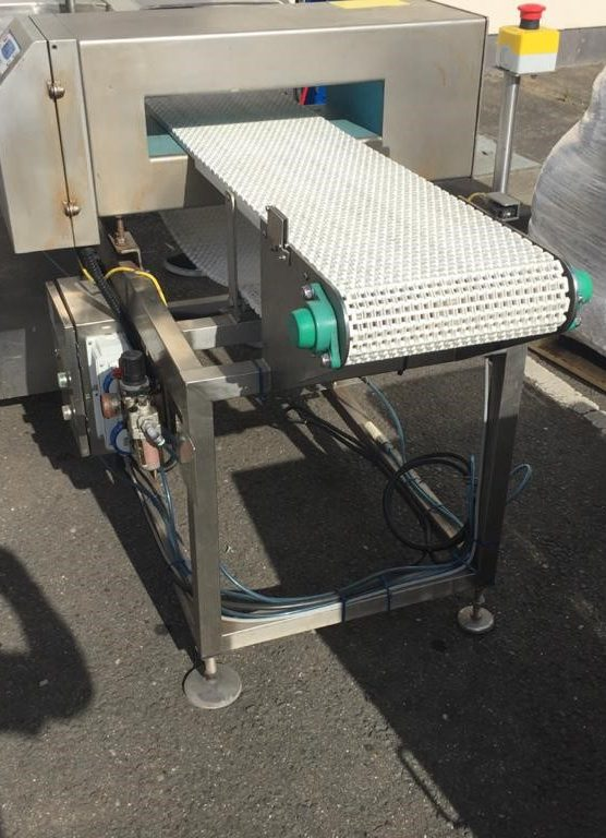 Lomar IQ 2 Metal Detector with Reject Facility DAW_003 Lomar IQ 2 Metal Detector Lomar IQ2 Metal Detector Complete with conveyor Bihyyy0qzw Stainless Steel Reject Station All Controls Aperture 480mm x 90mm