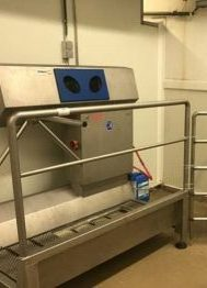 Elpress Sanitisation Station with Acces