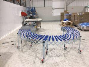 Soco Flexi gravity conveyors