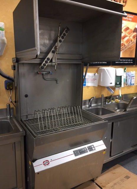Jeros Industrial Washer Creates , Trays, Utensils