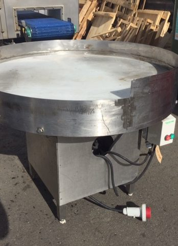 Used Lazy Susan Stainless Steel Rotary Table 1.2 metre diameter table Product Specifications