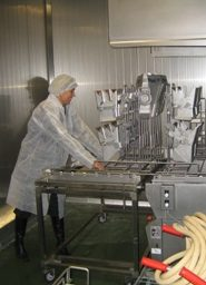 Jeros Industrial Washer Creates, Trays, Utensils