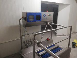 Niro-Tech SHM2 pass-through hygiene station