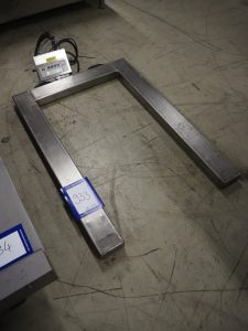 Cardinal weighing scale for pallets,