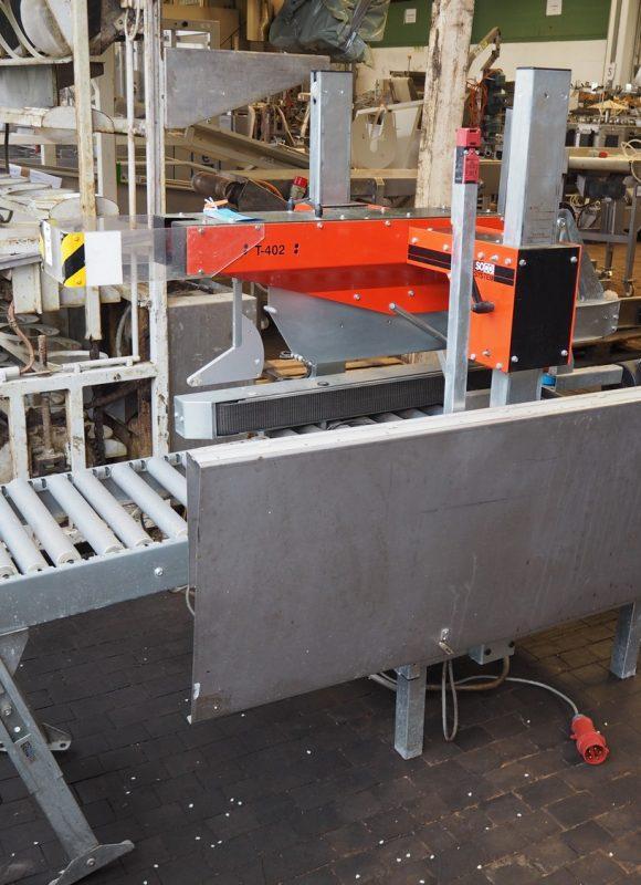 Soco Case Sealer Box closing Machine Model: T-402,