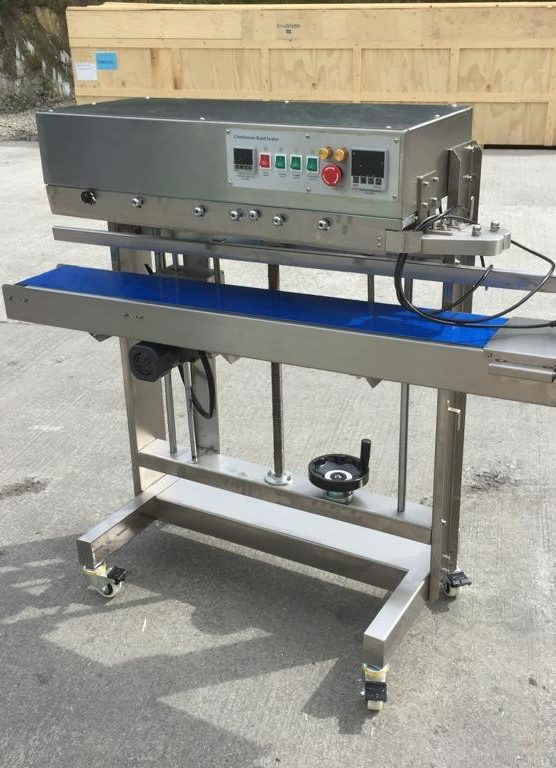 New Continuous Bag Sealer with ink coder