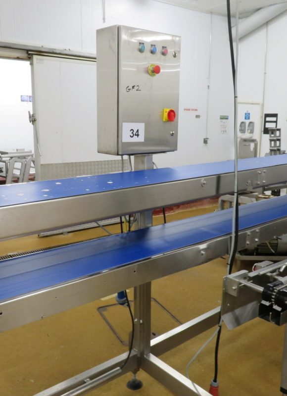 Twin level packing station line