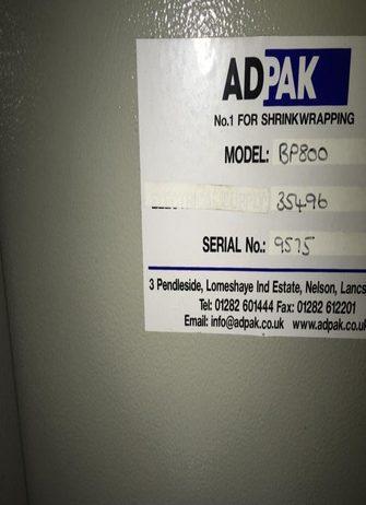 Adpack Sleeve Wrapper BP800